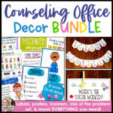 School Counseling Office Decor Bundle Dot Dudes Theme