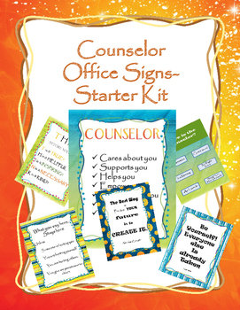 Counseling Office Decor for your door and office- Dream