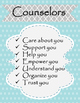 Counseling Office Decor for your door and office- Sky SALE