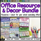 Elementary Counseling Office Resource & Decor Bundle