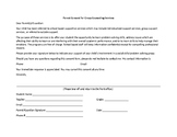 Counseling Permission Form