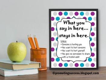 School Counseling Office Decor Idea