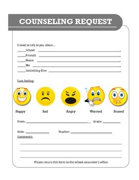 Counseling Request Form