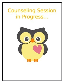 counseling session in progress by elementary counseling k4 tpt