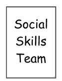Counseling Social Skills Small Group