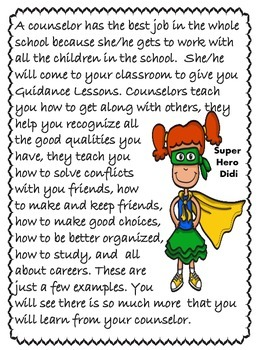"Counseling and Guidance ""Meet the Counselor"" Lesson"