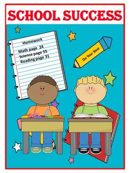 Counseling and Guidance Organizational Skills Story and Activity Book