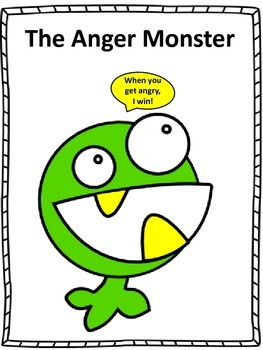 Counseling and Guidance The Anger Monster Story and Activities