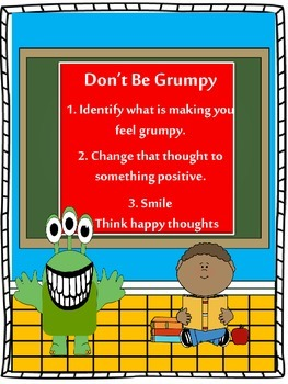 Counseling and Guidance, The Grouchy, Grouchy Monster Goes to School