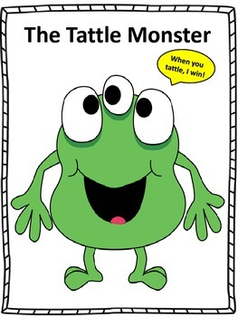"Counseling and Guidance, ""The Tattle Monster"""
