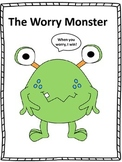 """Counseling and Guidance, """"The Worry Monster"""" Story and Activities"""