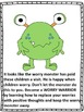 "Counseling and Guidance, ""The Worry Monster"" Story and Activities"