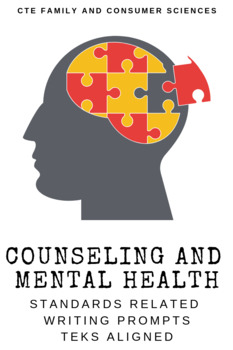 Counseling and Mental Health Standards Related Writing Prompts
