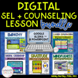Digital SEL and Counseling Lesson Bundle for Distance Lear