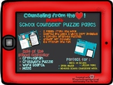 Counseling from the Heart School Counselor Puzzle Pages