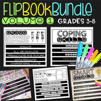 Social Skills Activities Flipbook Bundle One