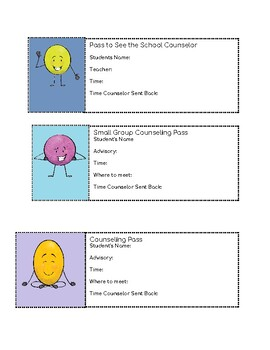 Counseling passes