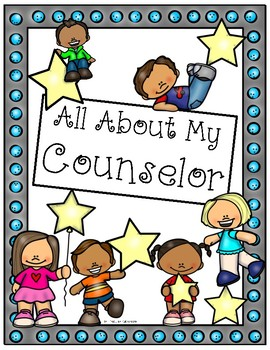 Counselor Appreciation All About My Counselor Book