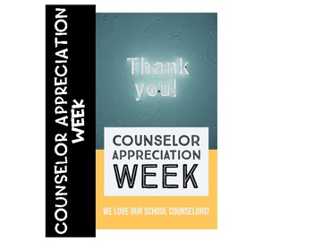 Counselor Appreciation Week Pack