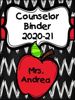 Counselor Binder (Apple) Editable Edition