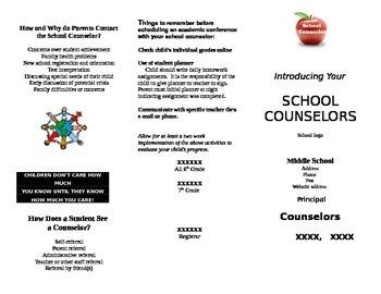 Counselor Brochure (School)
