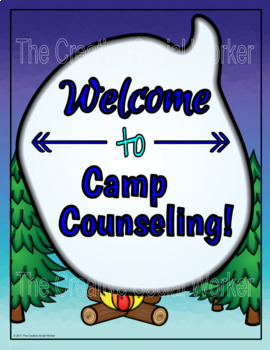 Camping Counseling Decor Set