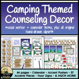 Counselor Camping Theme Decor Set