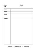 Counselor Classroom Lesson Plan Template