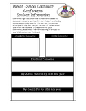 Counselor Conference Form for Parents