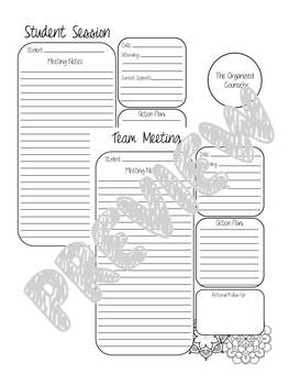 Counselor Contact Notes