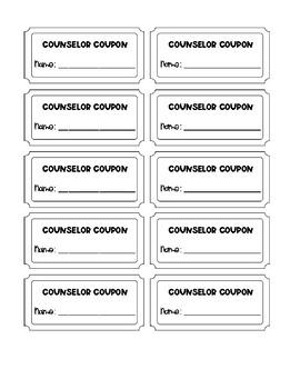 Counselor Coupon