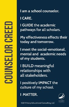 Counselor Creed