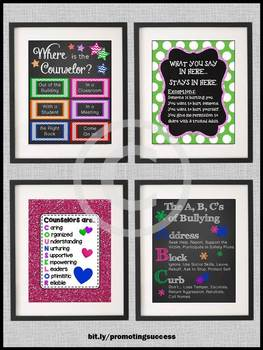 End of Year School Counselor Appreciation Week Gifts, Counseling Office Decor
