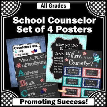 Where is the Counselor Sign Confidentiality Rules Counseling Office Decor BUNDLE