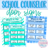 Counselor Door Signs