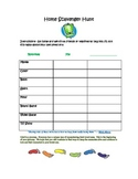 "Counselor - GRIEF Memory Book Homework ""Home Scavenger Hunt"""