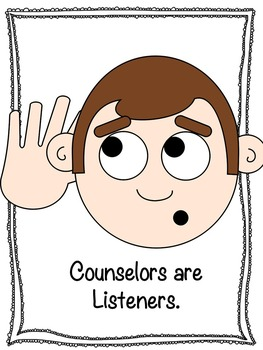 Counselor Intro Lesson and Calm Down Strategies