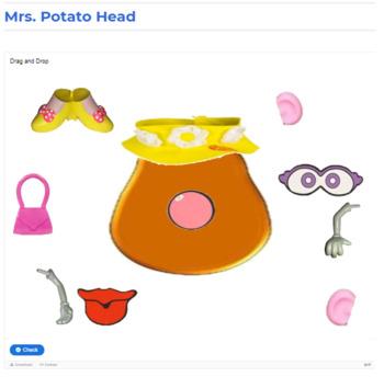 Interactive Mrs. Potato Head