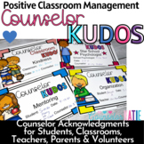 Counselor Kudos - Acknowledgments for School Counselors -