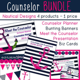 Counselor Bundle Planner, Presentation, Cards, & more