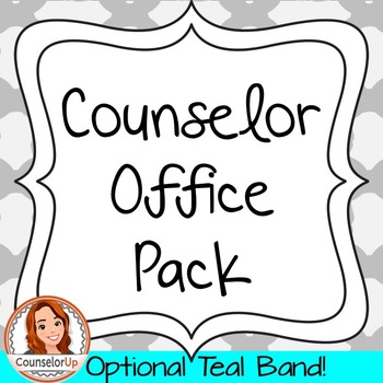 Counselor Office Pack with Calendars and Signs