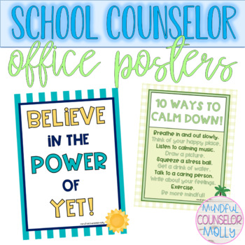 Counselor Office Posters