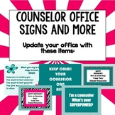 Spring Makeover Counselor Office Signs and More