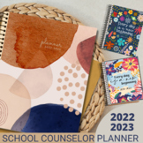 Lifetime School Counselor Planner 2021-2022 Free Yearly Updates