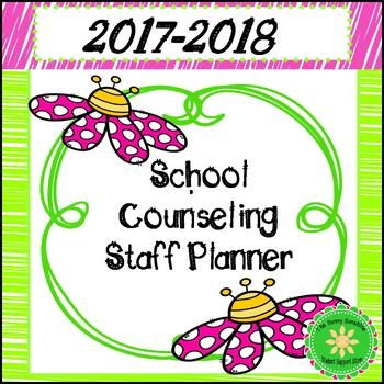 Counselor Planner (2016-2017 Edition- Flowers and Pink)