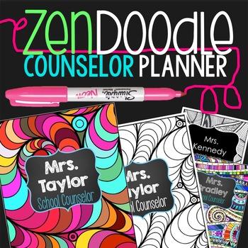 Editable Counselor Planner