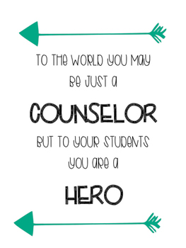 Counselor Printable