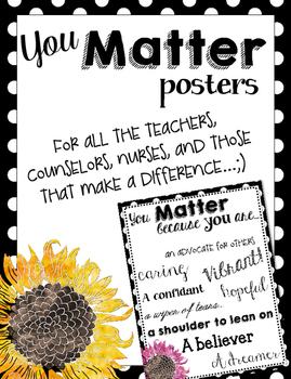 Counselor Appreciation Week Posters