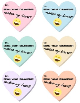 Counselor Valentine's Cards