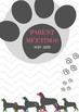 Counselor and Administrator Binder Covers and Spines- DOG THEME (2018-2019)